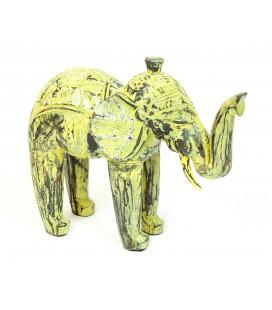 Madera elefante amarillo