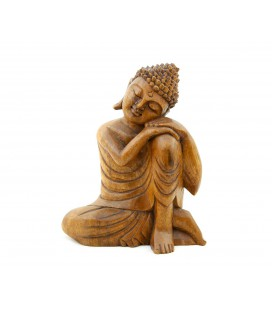 Hand on knee Buddha figurine