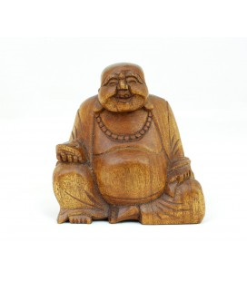 Large happy Buddha figurine