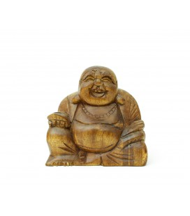 Small happy Buddha figurine