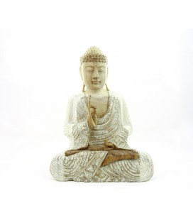 Pale protection Buddha figurine