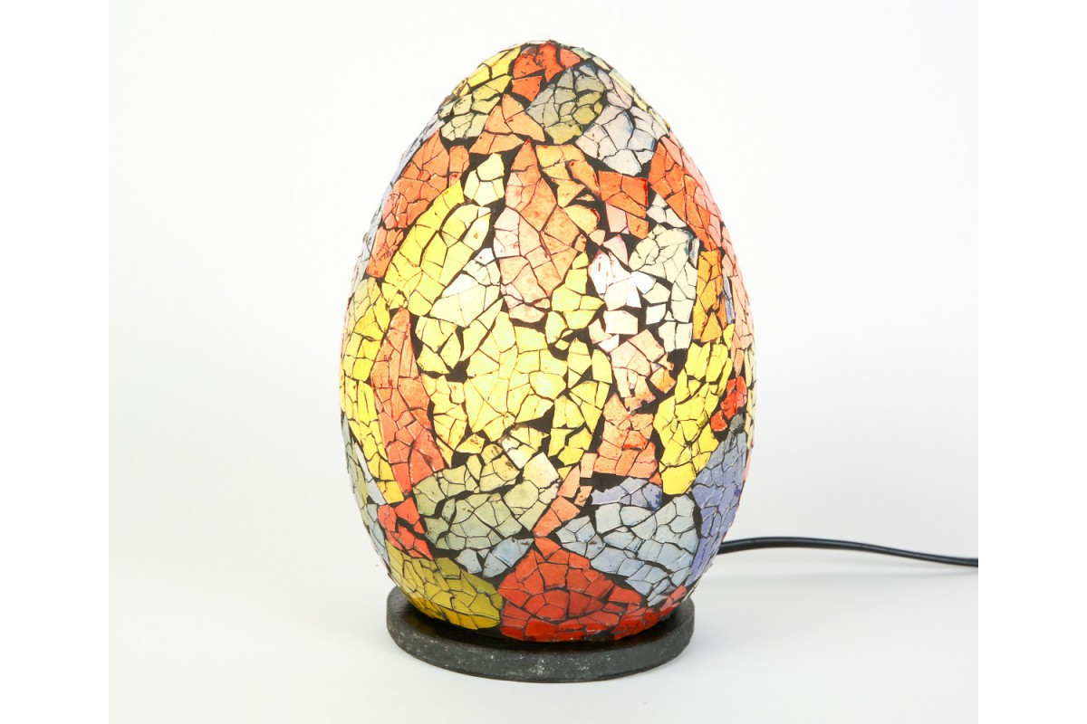 floor lamp ball fm kirmizi red mosaic star llc woodymood cm cicek products