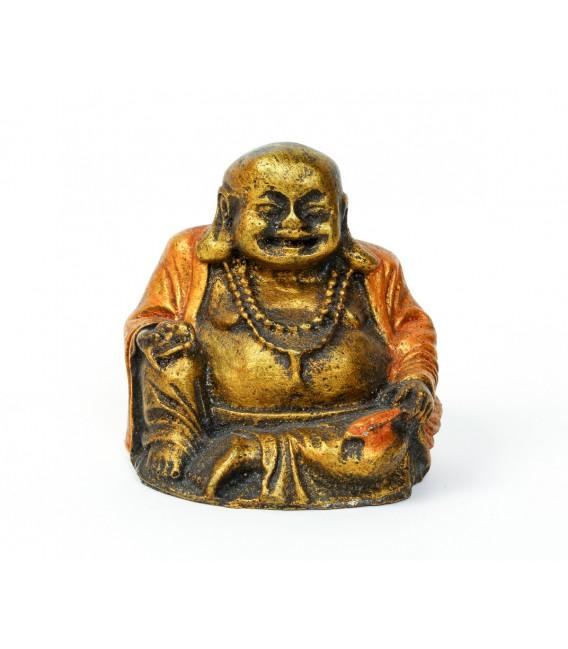 Resina Budha happy red stone