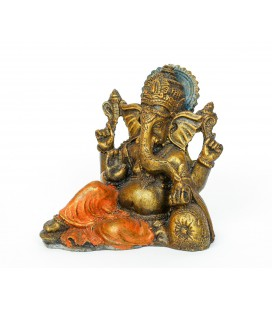 Gold Ganesh on cushion resins