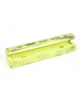 Yellow incense box