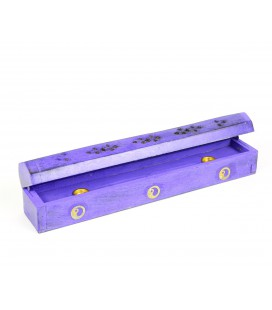 Lilac incense box