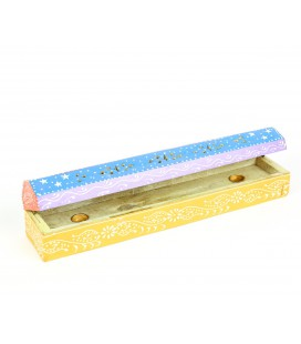 Multicolored incense box