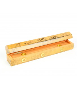 Orange incense box
