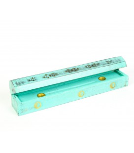Turquoise incense box