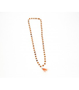 Crystal seed mala necklace