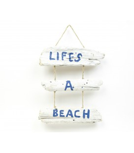 Life's a Beach boards poster