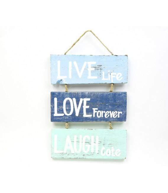 Live Love Laugh boards poster