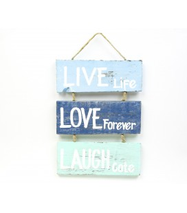 Live Love Laugh boards poster