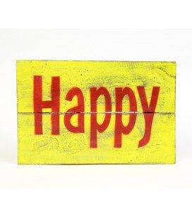 Yellow Happy poster