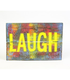 Multicolored Laugh poster