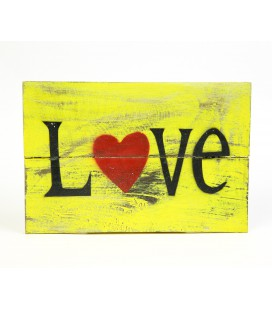Yellow Love poster