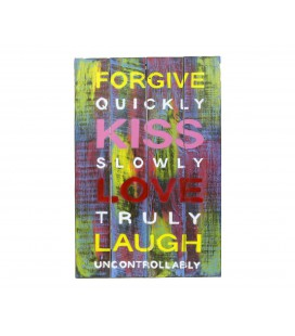 Multicolored Forgive poster