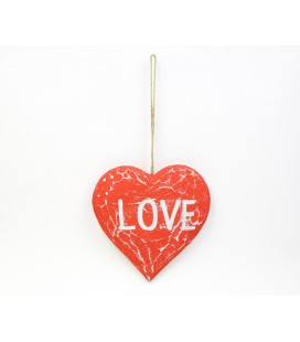 Red Love heart poster