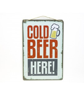 Placa Cold Beer