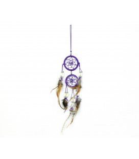 Lilac double dreamcatcher