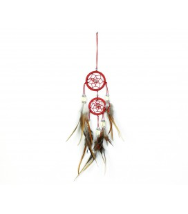 Red double dreamcatcher