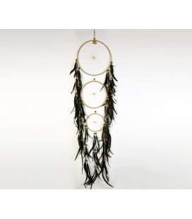 Cream triple dreamcatcher
