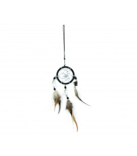 Basic black dreamcatcher with mirror