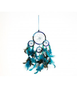 Simple blue dreamcatcher