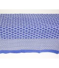 Thin cotton blue quilt