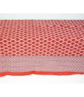 Thin cotton red quilt