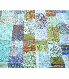 Blue Elephant Patchwork quilt