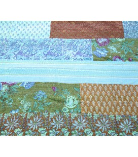 Blue Flower Patchwork quilt