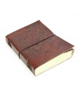 Large leather valance notebook