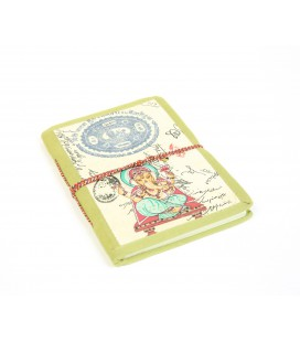 Large cloth Ganesh notebook